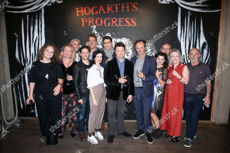 Editorial picture of 'Hogarth's Progress' play, Press Night, Kingston, UK - 29 Sep 2018