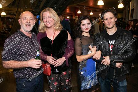 Keith Allen (William Hogarth), Susannah Harker (Queen Caroline/Jane Hogarth), Ruby Bentall (Jane Hogarth/Nancy/Mrs Ryott) and Bryan Dick (William Hogarth)