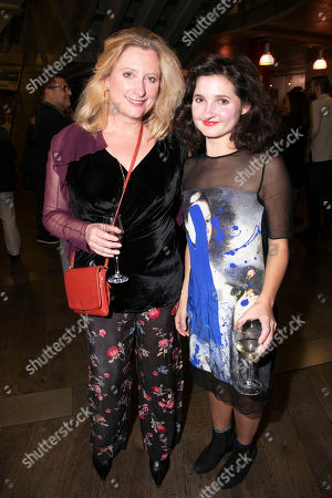 Susannah Harker (Queen Caroline/Jane Hogarth) and Ruby Bentall (Jane Hogarth/Nancy/Mrs Ryott)