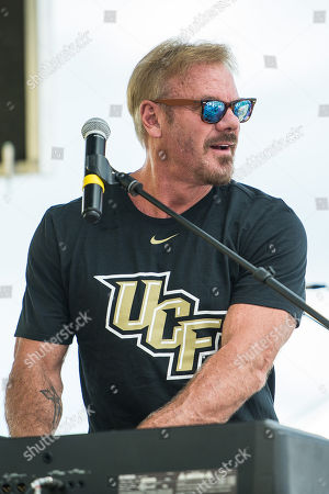 Orlando, FL, U.S: Phil Vassar performs at IOA Plaza at Spectrum Stadium before the NCAA football game between the Pitt Panthers and the UCF Knights at Spectrum Stadium in Orlando, Fl
