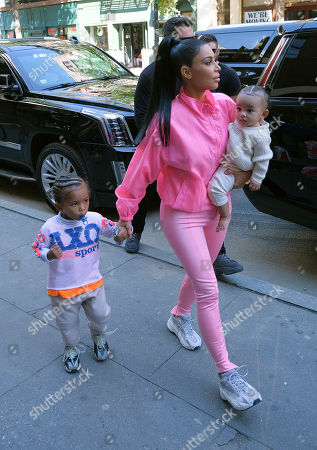 Editorial image of Kim Kardashian out and about, New York, USA - 29 Sep 2018