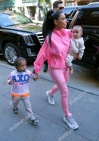 Editorial photo of Kim Kardashian out and about, New York, USA - 29 Sep 2018
