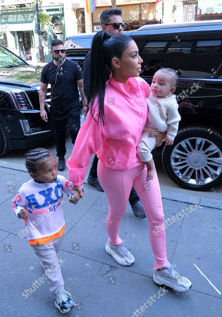 Editorial picture of Kim Kardashian out and about, New York, USA - 29 Sep 2018