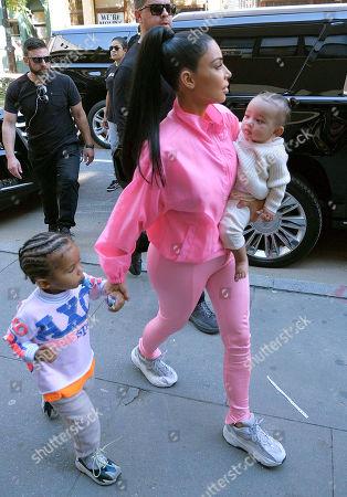 Kim Kardashian West, Chicago West, Saint West