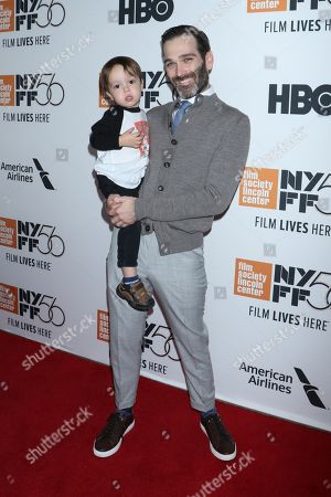 Adam Piotrowicz, producer and son Clive Piotrowicz