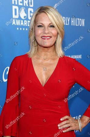 Barbara Niven is seen at the 2018 American Humane Hero Dog Awards at The Beverly Hilton, in Beverly Hills, Calif