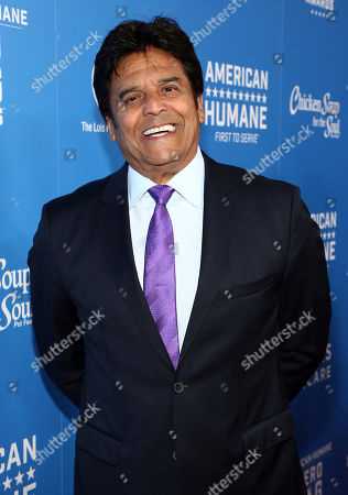 Erik Estrada is seen at the 2018 American Humane Hero Dog Awards at The Beverly Hilton, in Beverly Hills, Calif