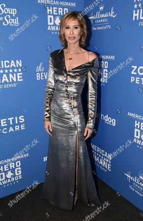 Carole Radziwill is seen at the 2018 American Humane Hero Dog Awards at The Beverly Hilton, in Beverly Hills, Calif