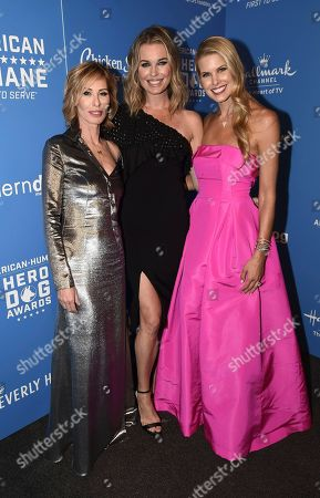 Carole Radziwill, Rebecca Romijn, Beth Stern. Carole Radziwill, from left, Rebecca Romijn and Beth Stern are seen at the 2018 American Humane Hero Dog Awards at The Beverly Hilton, in Beverly Hills, Calif