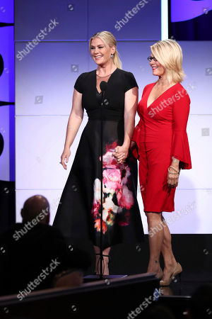 Alison Sweeney, Barbara Niven. Alison Sweeney, left, and Barbara Niven speak at the 2018 American Humane Hero Dog Awards at The Beverly Hilton, in Beverly Hills, Calif