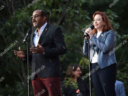 Gaston Browne, Maria Fernanda Espinosa Garces