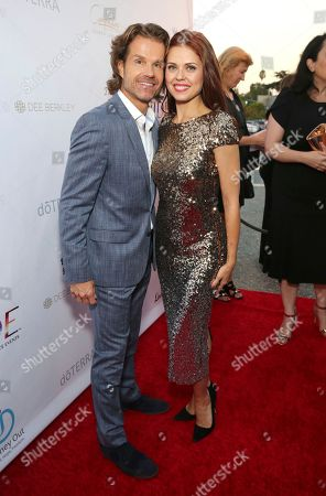 Louis van Amstel, Anna Trebunskaya. Louis van Amstel and Anna Trebunskaya seen at the RIDE Foundation Dance for Freedom Gala at The Broad Stage, in Santa Monica, Calif