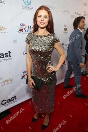 Anna Trebunskaya seen at the RIDE Foundation Dance for Freedom Gala at The Broad Stage, in Santa Monica, Calif