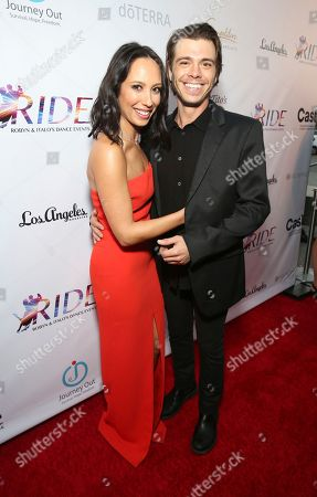 Cheryl Burke, Matthew Lawrence. Cheryl Burke and Matthew Lawrence seen at the RIDE Foundation Dance for Freedom Gala at The Broad Stage, in Santa Monica, Calif