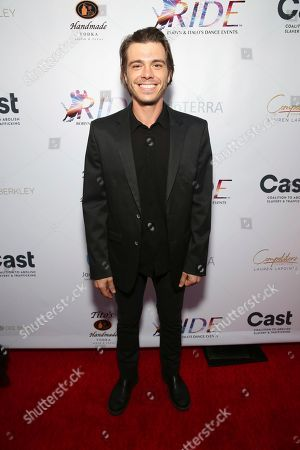 Stock Image of Matthew Lawrence seen at the RIDE Foundation Dance for Freedom Gala at The Broad Stage, in Santa Monica, Calif