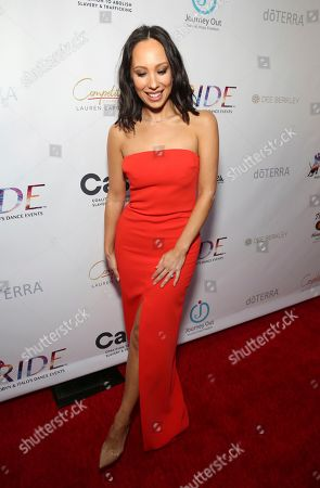 Cheryl Burke seen at the RIDE Foundation Dance for Freedom Gala at The Broad Stage, in Santa Monica, Calif