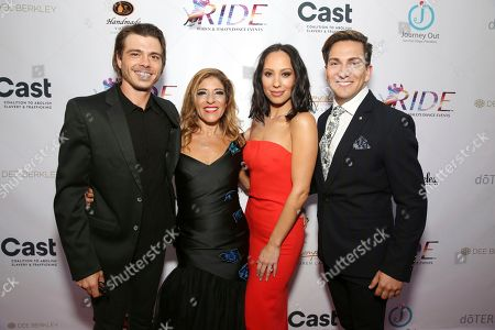 Matthew Lawrence, Robyn Shreiber, Cheryl Burke, Italo Elgueta. Matthew Lawrence, Robyn Shreiber, Cheryl Burke and Italo Elgueta seen at the RIDE Foundation Dance for Freedom Gala at The Broad Stage, in Santa Monica, Calif