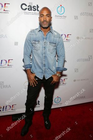 Donnell Turner seen at the RIDE Foundation Dance for Freedom Gala at The Broad Stage, in Santa Monica, Calif