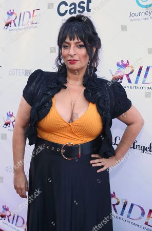 Alice Amter seen at the RIDE Foundation Dance for Freedom Gala at The Broad Stage, in Santa Monica, Calif