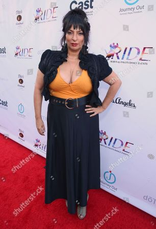Stock Photo of Alice Amter seen at the RIDE Foundation Dance for Freedom Gala at The Broad Stage, in Santa Monica, Calif
