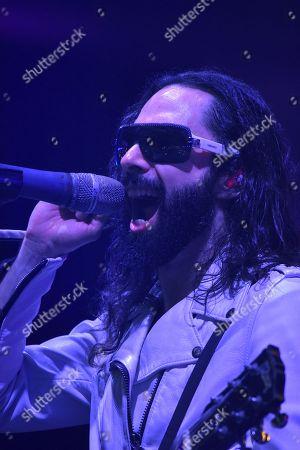 Stock Photo of Singer Jay de la Cueva of Moderatto
