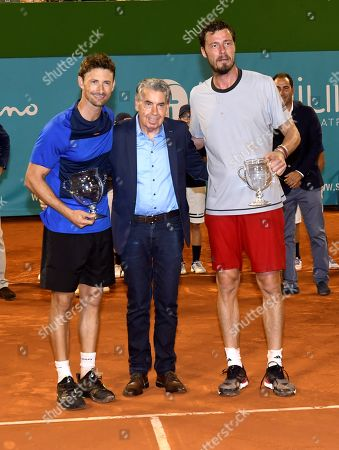 Editorial image of Masters Seniors Tennis Tournament in Malaga, Marbella, Spain - 29 Sep 2018