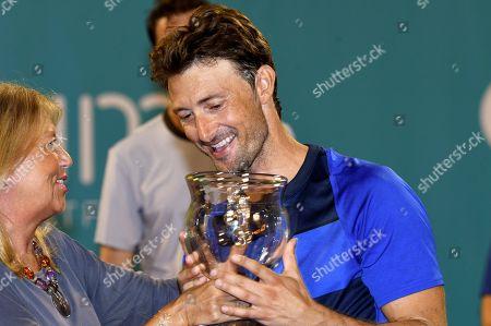 Editorial picture of Masters Seniors Tennis Tournament in Malaga, Marbella, Spain - 29 Sep 2018