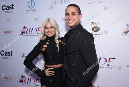 Stock Photo of Oksana Platero and Jonathan Platero