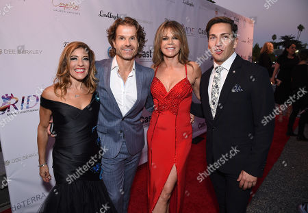 Robyn Shreiber, Co-Founder of Ride Foundation, Louis van Amstel and Mary-Margaret Humes and Italo Elgueta, Co-Founder of Ride Foundation