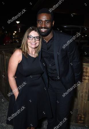 Kay Buck, CEO of CAST Los Angeles and Keoikantse Motsepe