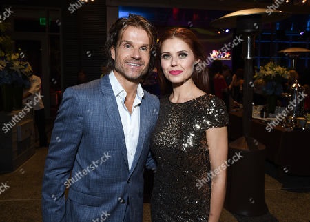 Stock Picture of Louis van Amstel and Anna Trebunskaya