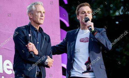 John Sykes and Hugh Evans