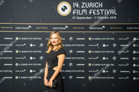 Editorial picture of 14th Zurich Film Festival, Switzerland - 30 Sep 2018