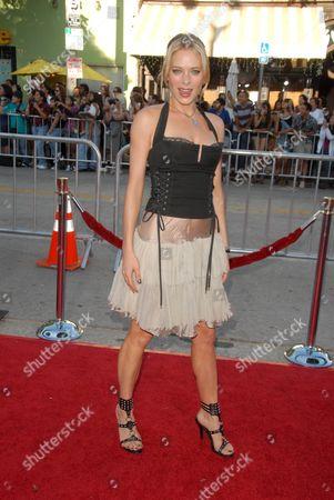 Stock Picture of Nina Bergman