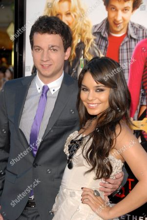 Stock Photo of Vanessa Hudgens with Gaelan Connell