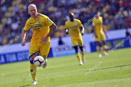 Editorial picture of Frosinone Calcio vs Genoa CFC, Italy - 30 Sep 2018