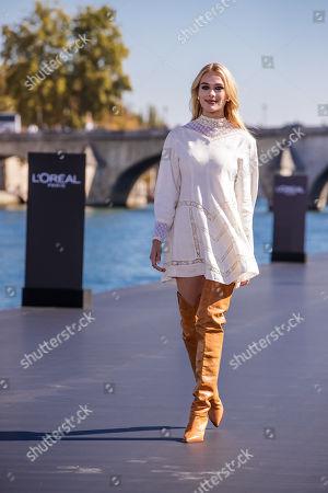 Editorial image of L'Oreal - Runway - Paris Fashion Week S/S 2019, France - 30 Sep 2018