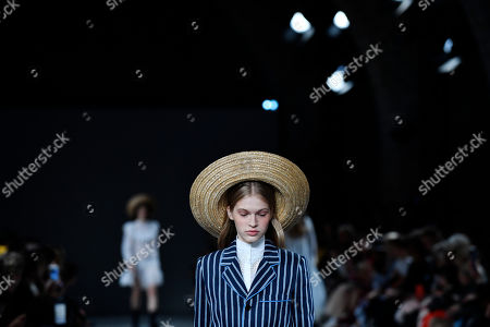 Editorial picture of John Galliano - Runway - Paris Fashion Week S/S 2019, France - 30 Sep 2018
