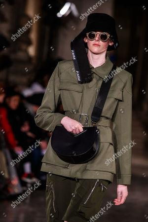Editorial picture of Mashama - Runway -  Paris Fashion Week S/S 2019, France - 30 Sep 2018