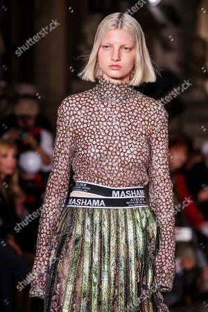 Editorial photo of Mashama - Runway -  Paris Fashion Week S/S 2019, France - 30 Sep 2018