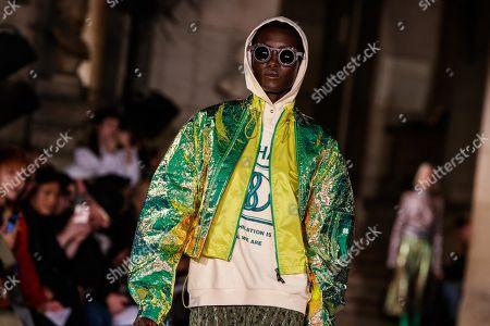 Editorial image of Mashama - Runway -  Paris Fashion Week S/S 2019, France - 30 Sep 2018
