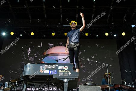 Andrew McMahon in the Wilderness seen at Ohana Festival at Doheny State Beach, in Dana Point, Calif