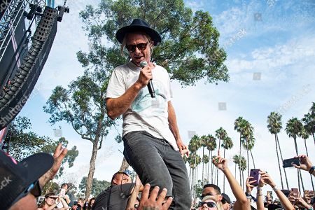 Jon Foreman of Switchfoot seen at Ohana Festival at Doheny State Beach, in Dana Point, Calif