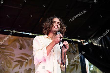 Allan Rayman seen at Ohana Festival at Doheny State Beach, in Dana Point, Calif