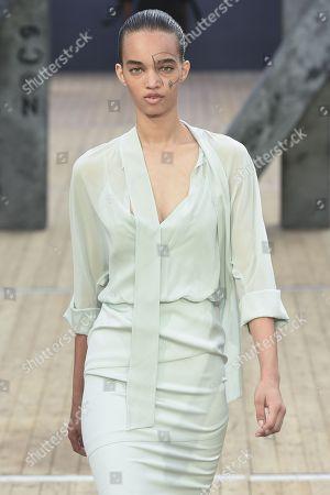 Editorial image of Akris show, Runway, Spring Summer 2019, Paris Fashion Week, France - 30 Sep 2018