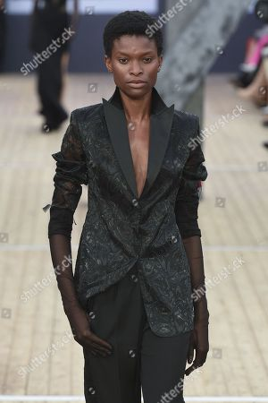Editorial image of Akris show, Runway, Spring Summer 2019, Paris Fashion Week, France - 30 Sep 2018