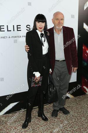 Stock Image of Chantal Thomas and her husband