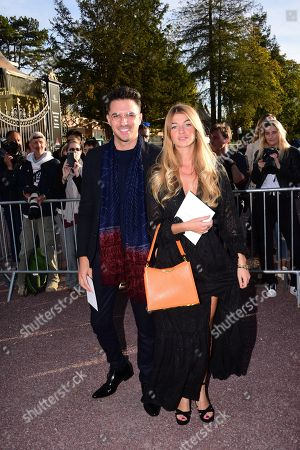 Editorial photo of Hermes show, Arrivals, Spring Summer 2019, Paris Fashion Week, France - 29 Sep 2018
