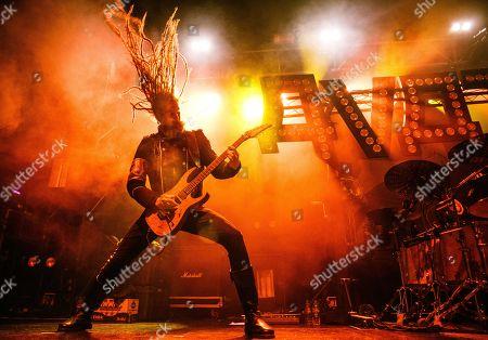 """Avatar - Guitarist Jonas """"Kungen"""" Jarlsby,"""