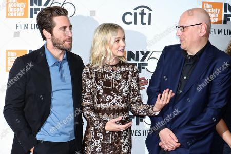 Jake Gyllenhaal, Carey Mulligan and Oren Moverman